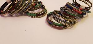 Handweaved, African Tribal Bracelets